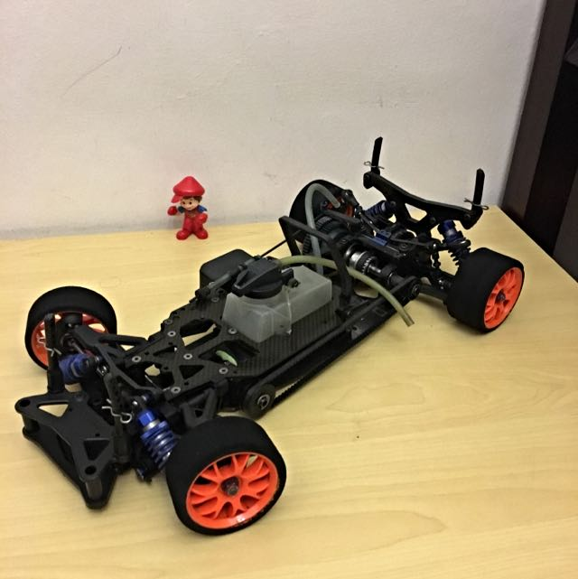 Rc Car - Kyosho V1rrr Worlds Edition Nitro Touring Car Roller