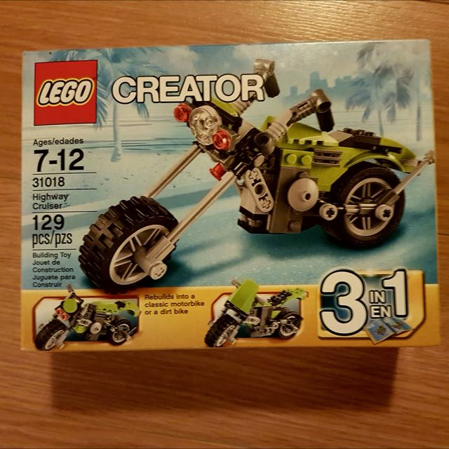 RETIRED - BNIB LEGO Creator 3-in-1 Twinblade Adventures Set