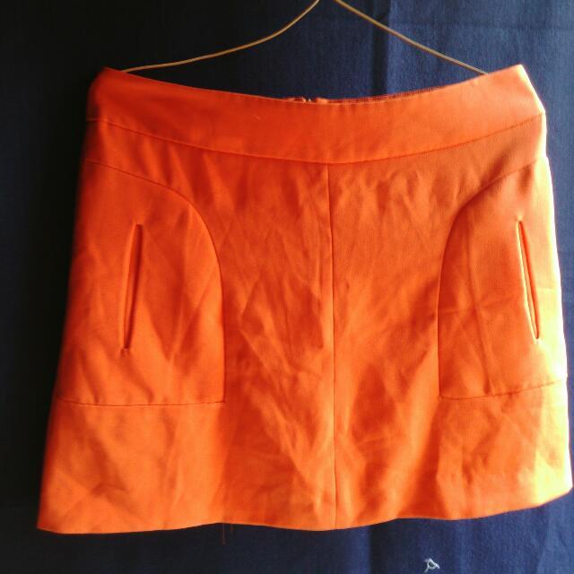 Rok Pendek Orange
