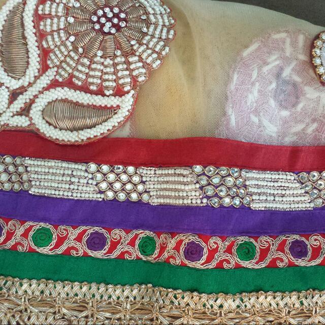 Sari or lengha