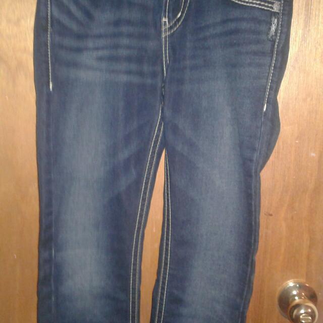 Silver Joga Stretch Skinny Jeans