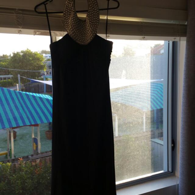 Size 10 Black Formal Dress