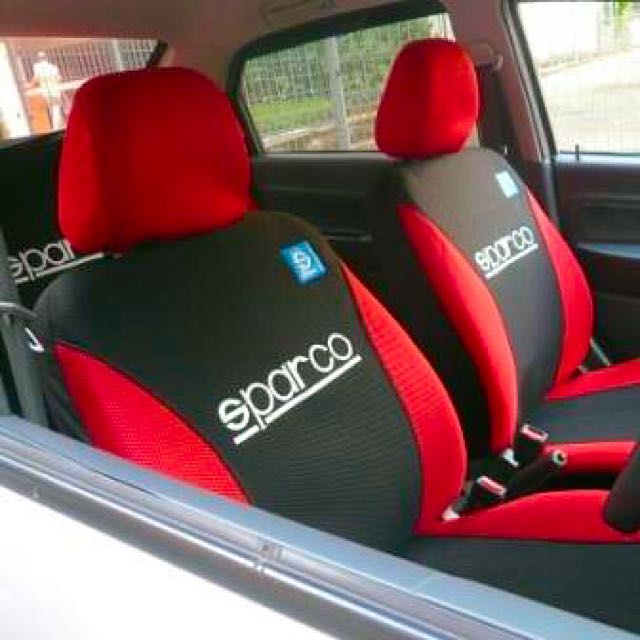 Sparco Car Seat Cover Car Accessories On Carousell