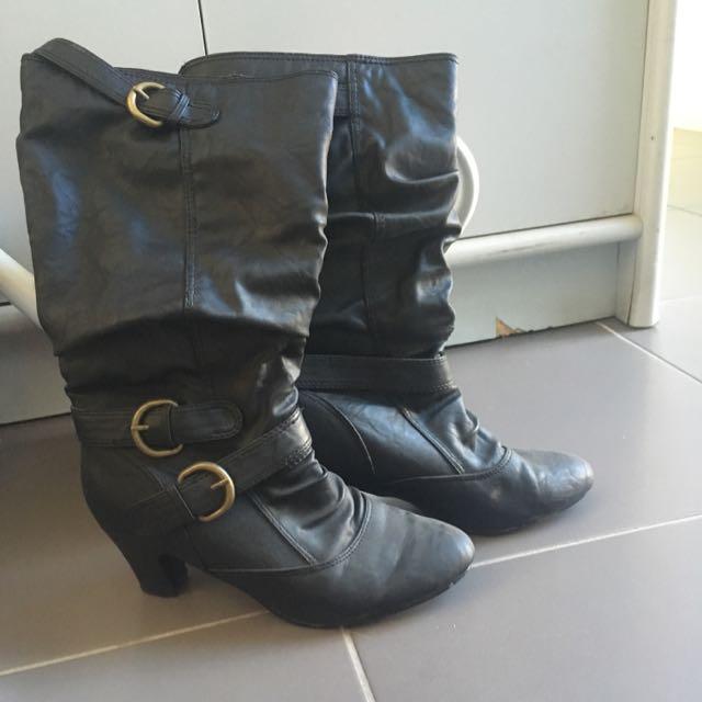 Super Comfortable Knee Boots