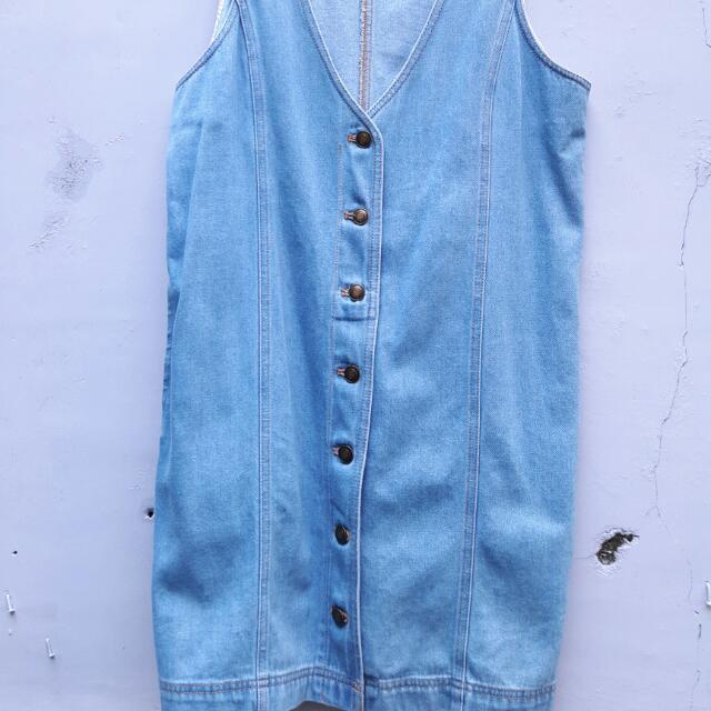 Uniqlo Vest Blue Jeans