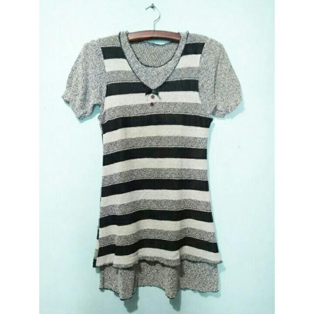 Vintage stripes dress .