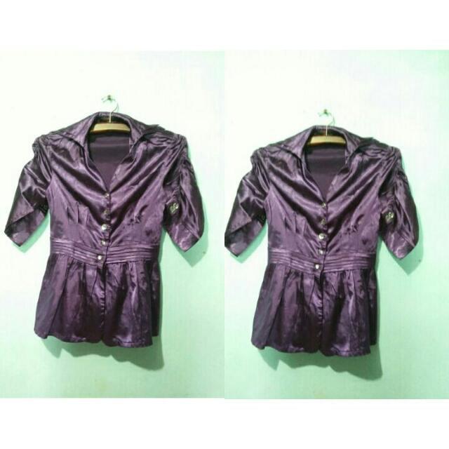 Vintage top purple