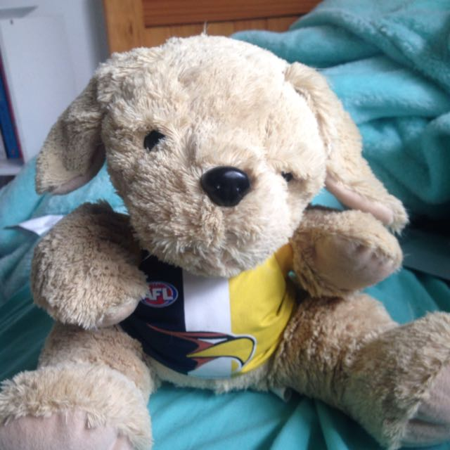 West Coast Eagles Dog Puppet