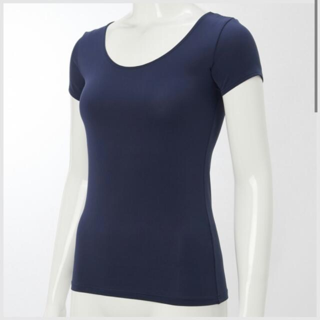 287b91ff558a Women AIRism Scoop Neck Short Sleeve T-shirt
