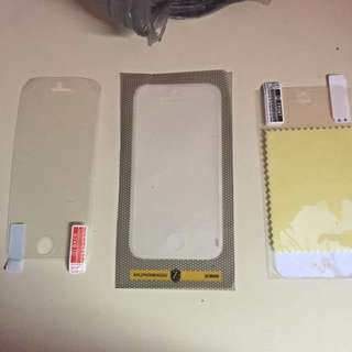 Iphone 5s Screen Protector + Heavy Duty Protector $89RRP