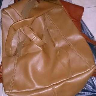 Mango Leather Bag