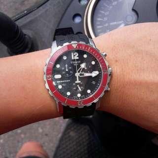 Tissot天梭  Seastar 300m 潛水錶