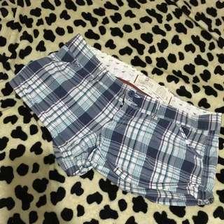 Hollister Checkered Blue Short