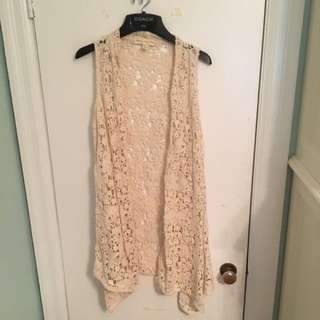 Urban Outfitters Crochet Boho Sweater