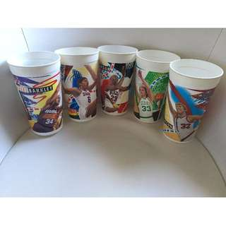 Lot of 16 McDonald's Collectable Sports Cups NBA NFL Basketball Football
