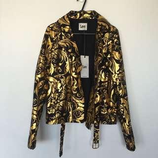 Lee Black & Gold Jacket
