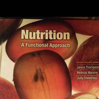 Nutrition Or Health Science Class