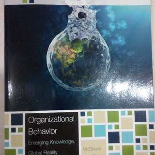 Organizational Behavior Emerging Knowledge Global Reality 7th Edition