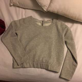 Light Grey Never Worn Sweater Size Medium