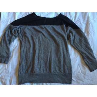 Forever 21 Jumper With Sheer Panel