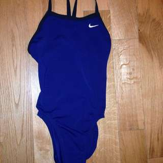 Navy Blue Nike Baithing Suit Size 10 Girls
