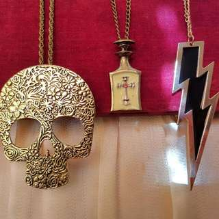 Set Of 3 Brand New Necklace