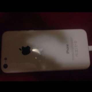 Unlocked iPhone 5C White