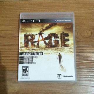 Bd Game Rage PS3