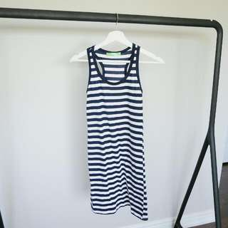 Stripped Dress (Size: XS)