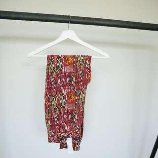 Zara Printed Pants (Size: XS)
