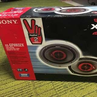 Sony Xplod 6x9 3 Way Speakers