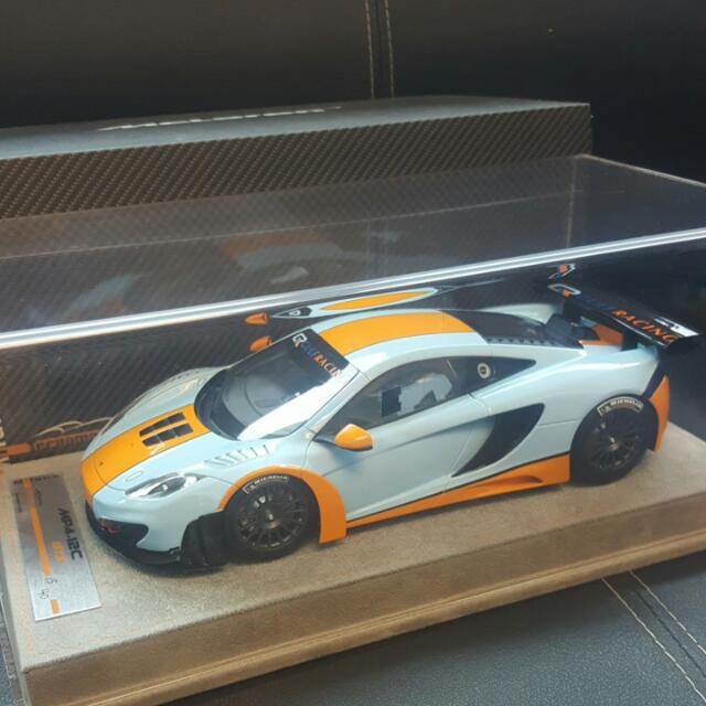1/18 Mclaren MP4-12C GT3 GULF colours Technomodels