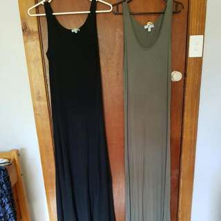 2 X Ladies Size 8 Maxi Dresses