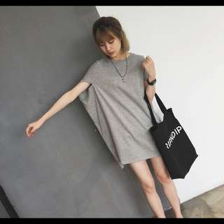 PO. BUTTERFLY SLEEVE DRESS