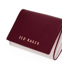 Ted Baker Purple Small Leather Purse
