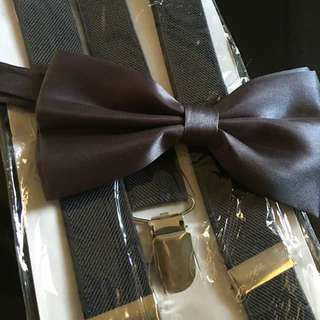 Bowtie & Suspenders for SALE....Las Pinas City  For all your formal wear needs... COAT.SUIT.TUXEDO.AMERIKANA.LADIES GOWNS WEDDING.EVENTS Viber- 09989898034 Sms-09175556015