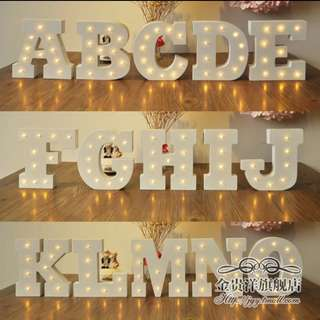 PO. ALPHABET DECO LIGHT