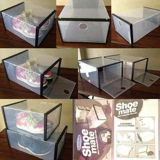 Shoe Mate Shoemate Stackable Shoe Box