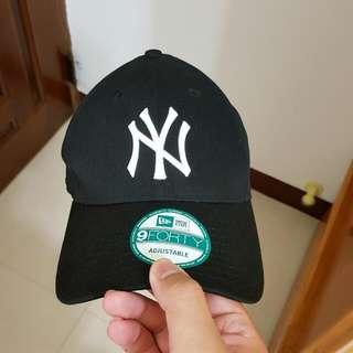 New Era 9 Forty Yankee洋基老帽(黑)