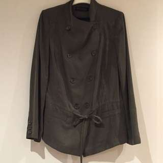 DAVID LAWRENCE TENCEL DRESS JACKET-SIZE 12