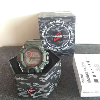 卡西歐 Casio G-shock Rangeman 限量 3410