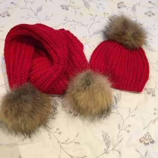 Set Of Scarf And Hat