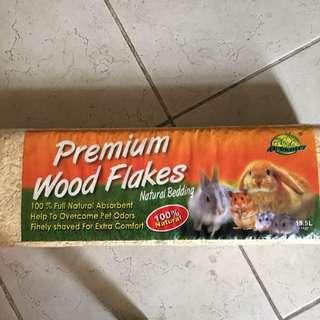 1kg Hamster/Rabbit Bed: Wooden Shavings