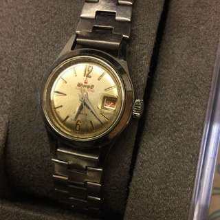 Winoo Vintage Metallic Watch Swiss Made