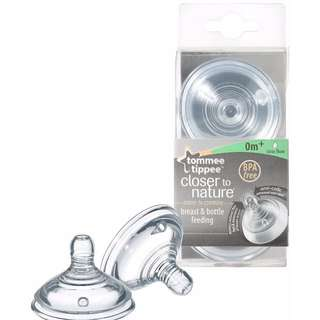 Tommee Tippee (Closer to Nature) - Slow Flow Teats