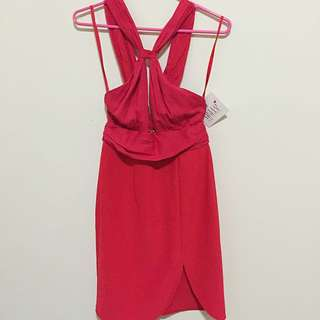 Red Hello Molly Clubbing Dress