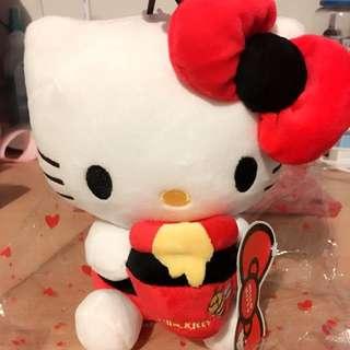 Red Hello kitty Plush