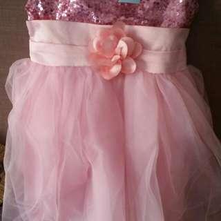 Girl's Evening Dress (sequin)