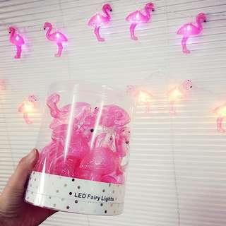 【現貨】來開派對啦!紅鶴LED燈掛/燈飾(暖黃燈)
