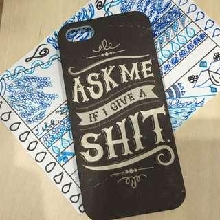 Typo Iphone 5 Case